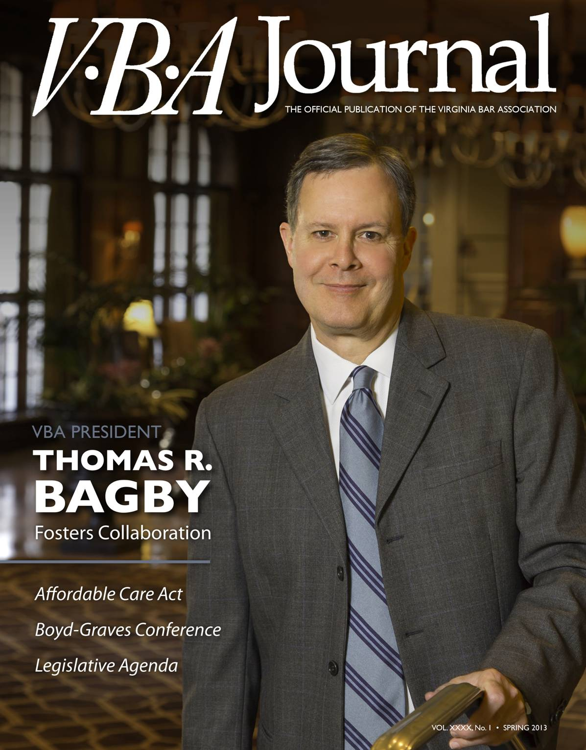 Spring 2013 VBA Journal cover image