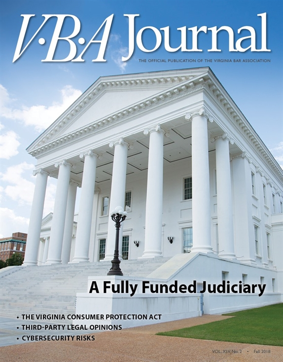 VBA Journal Fall 2018