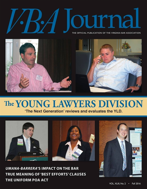 VBA Journal Fall 2016