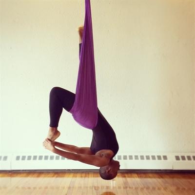 Camara Chambers Aerial Yoga