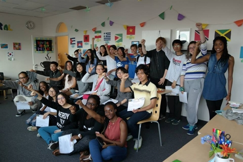 Photo of youth from the CTW Multicultural Cafe