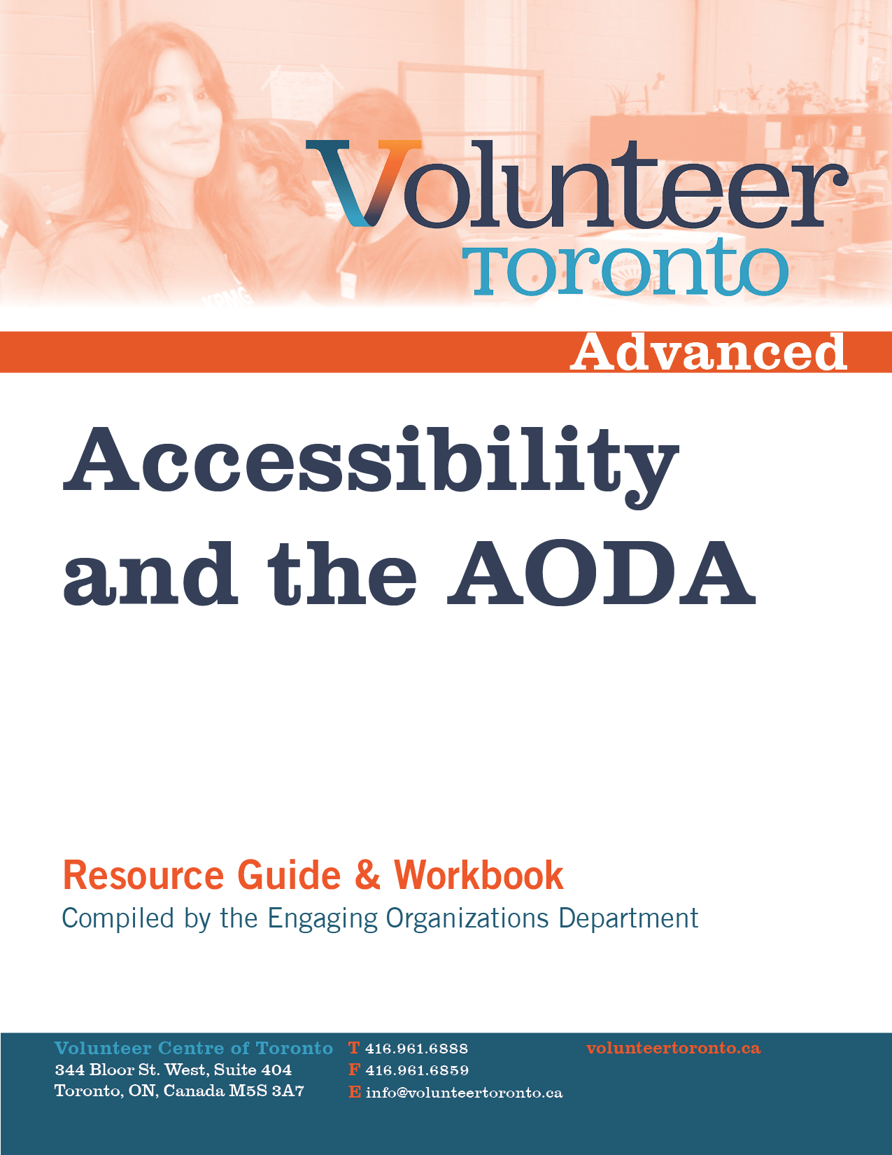 aoda policy template - management resources volunteer toronto