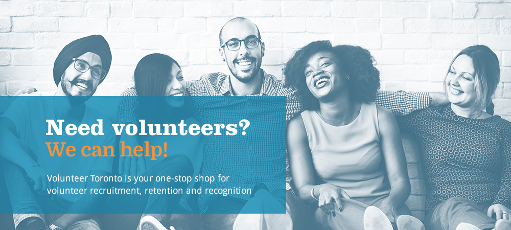 Need Volunteers? We can help!