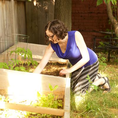 Melina Condren Gardening