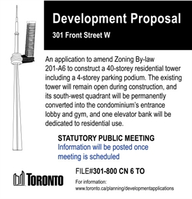 Fake condo proposal for the CN Tower