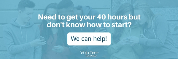 Need to get your 40 hours but don't know where to start?