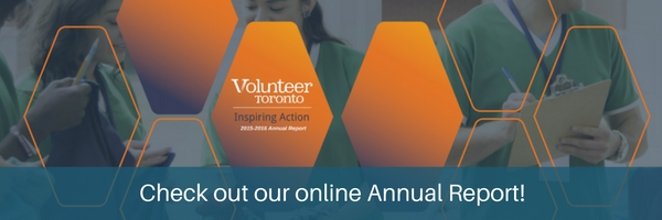Volunteer Toronto 2015-2016 Annual Report