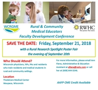 Rural & Community Medical Educators Faculty Development Conference
