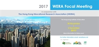 WERA Focal Meeting: Call for Submissions