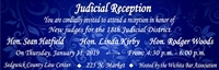 Judicial Reception in honor of new judges for the 18th Judicial District