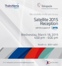 Telespazio SATELLITE 2015 Reception - WTA