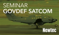 Newtec - Government & Defense Satellite Communications Seminar