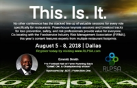 RLPSA 2018 Conference - Dallas TX