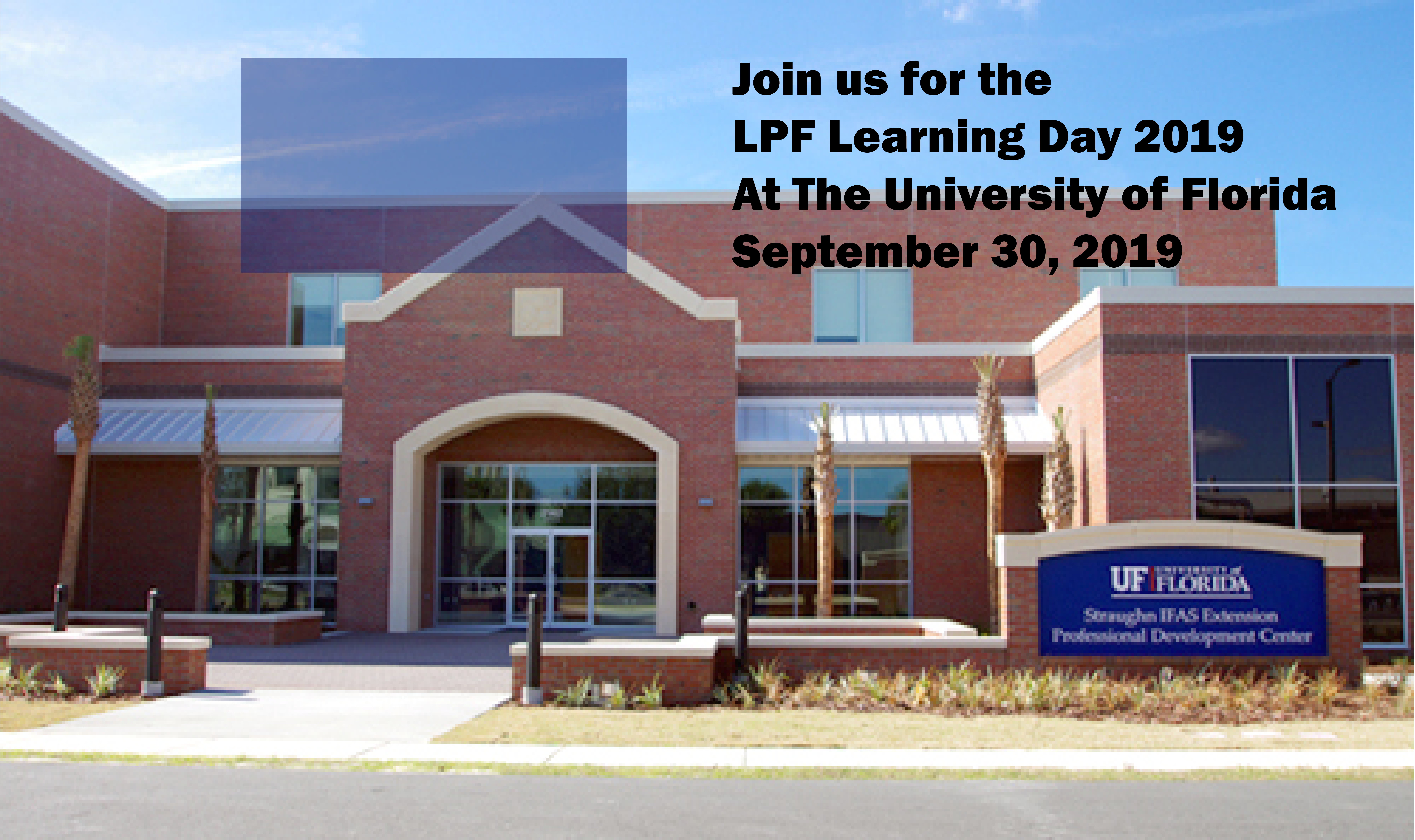 LPF Learning Day