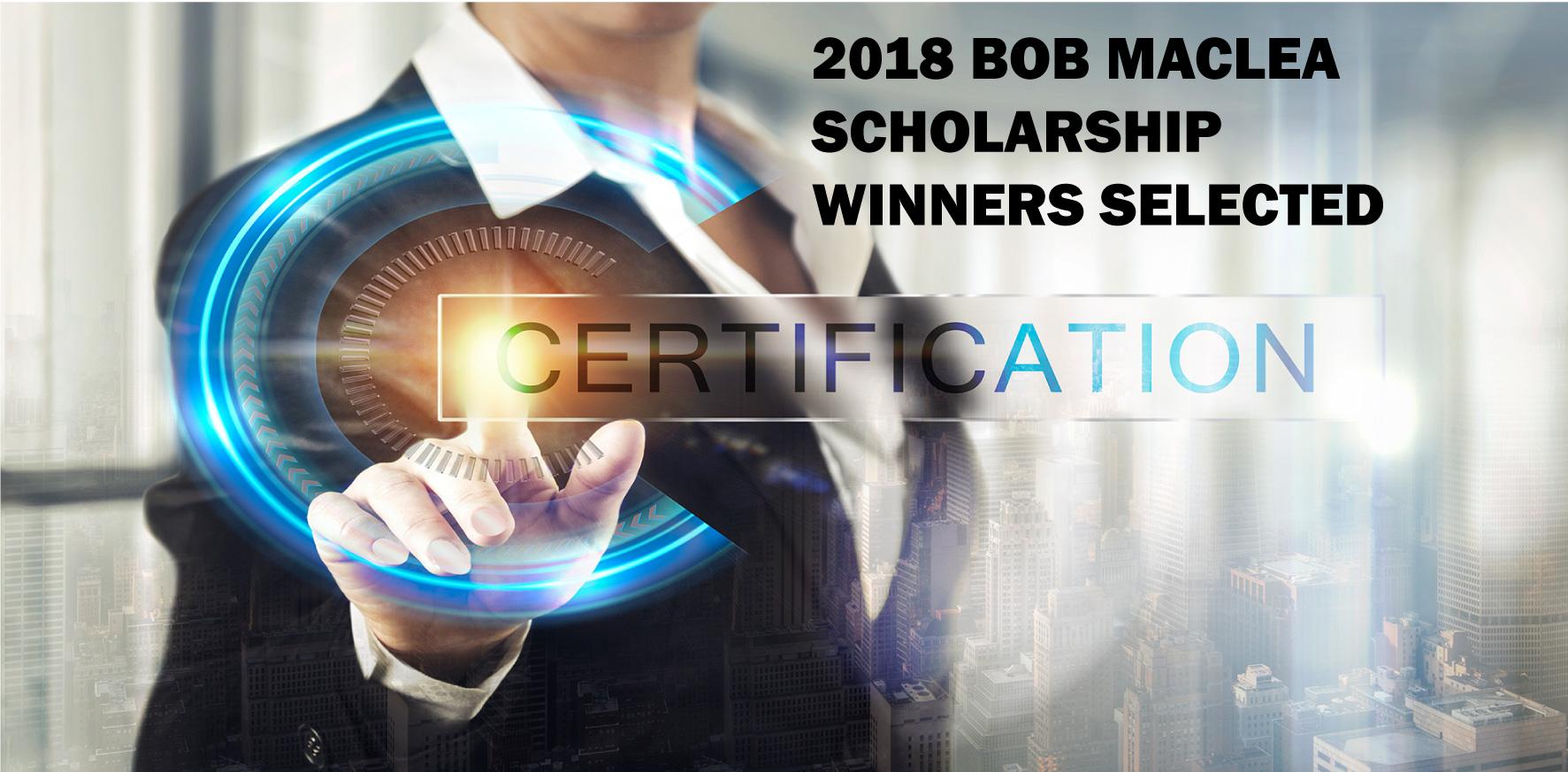 Bob MacLea Scholarship Winners